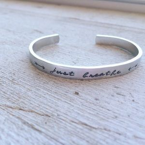 Jewelry - Just Breathe Bracelet